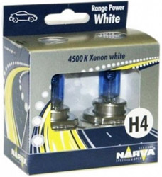 NARVA RANGE POWER WHITE 12V 60/55W